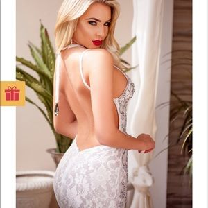 Holt Miami Liv gown Bwt